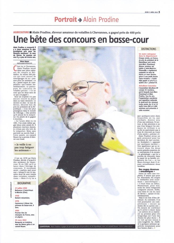 L yonne repub avril 2014